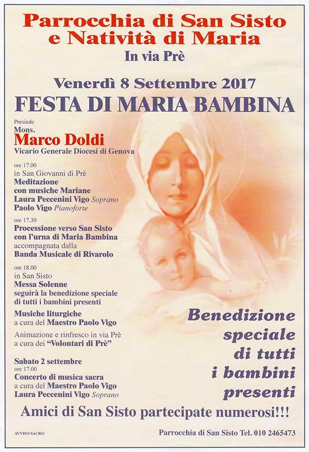 Festa-Maria-Bambina-chiesa-San-Sisto-Genova-2017