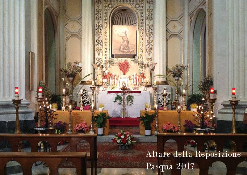 parrocchia-San-Sisto-Genova-Altare-Reposizione-Pasqua-2017