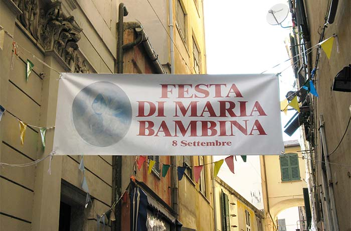 Festa Maria Bambina Genova prè